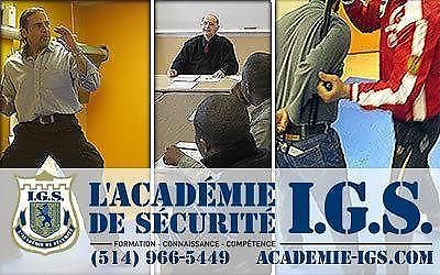 The IGS Security Academy, Security Guarding course presentation