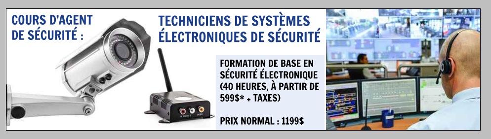 Formation sécurité électronique