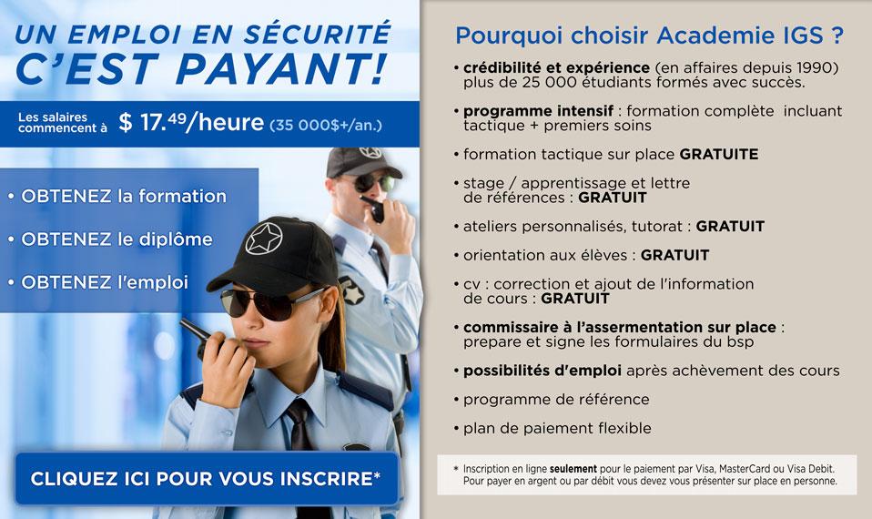 L Academie De Securite I G S